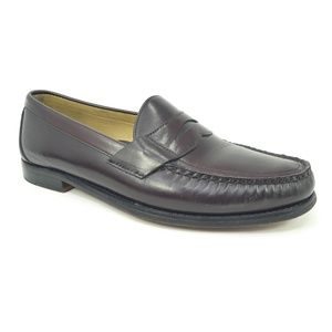 Sebago Classic Antique Brown Leather Penny Loafers